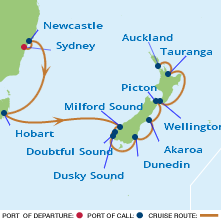 Pied Piper Travel Cruise Info